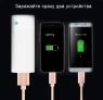 Кабель-брелок универсальный 2в1 micro-USB + Lightning