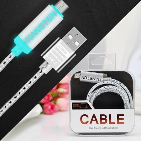 USB-microUSB светящийся