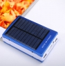 Power-bank 10000 мАч на солнечной батарее + фонарь