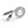 Кабель универсальный 2 в 1 micro-USB + Lightning Pineng PN-301